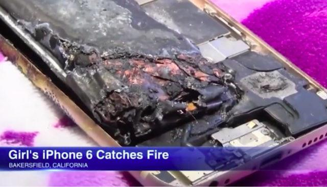 11-Year-Old Girl's iPhone 6 Exploded Burning Holes In Blanket